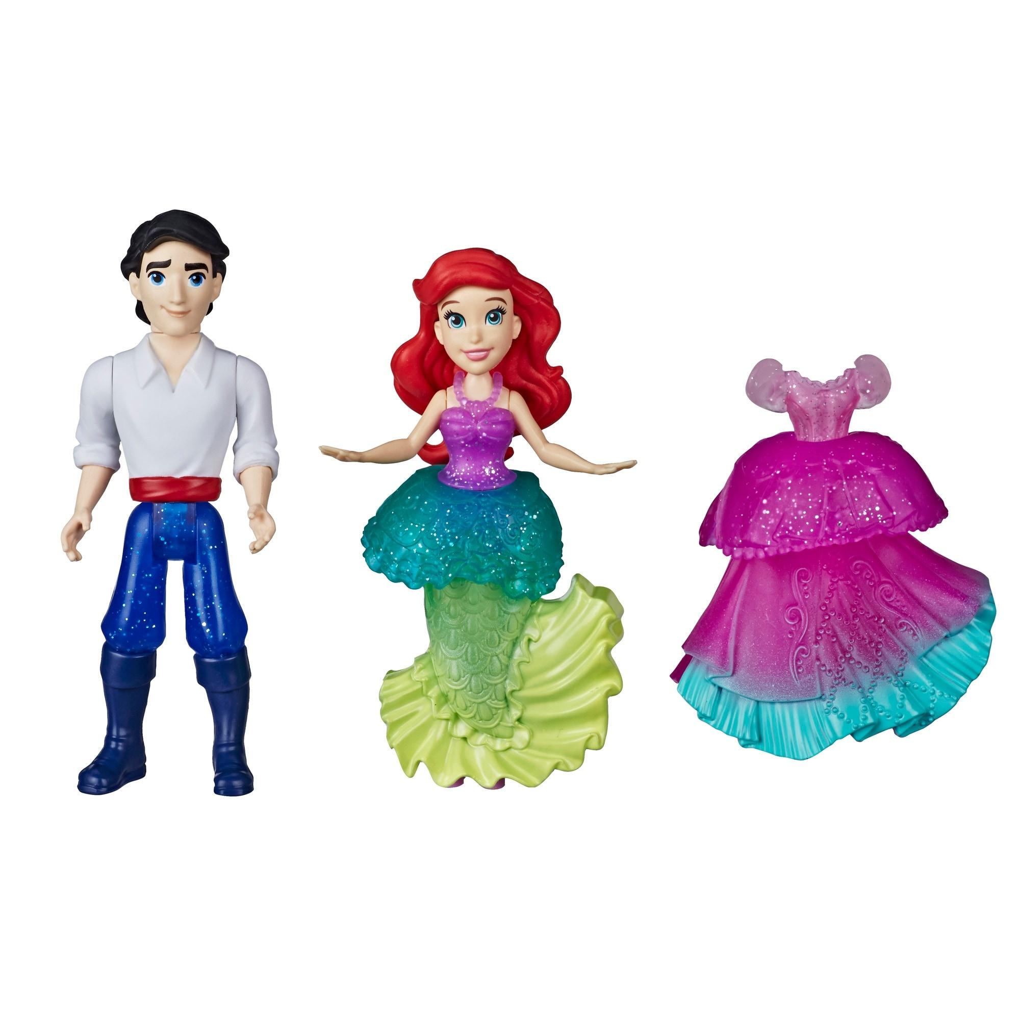Shop Disney Princess Ariel And Prince Eric Collectible Small Doll