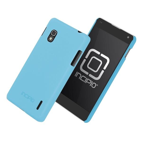 Incipio Technologies Feather Case for LG Optimus Sprint G LS970 (Neon Blue) - LG