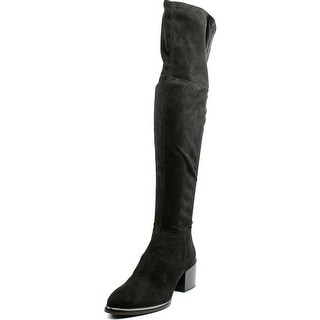 Calvin Klein Jeans Niviah Pointed Toe Suede Over the Knee Boot