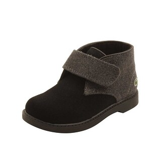 Lacoste Infant Sherbrook 416 Boots in Black/Dark Grey