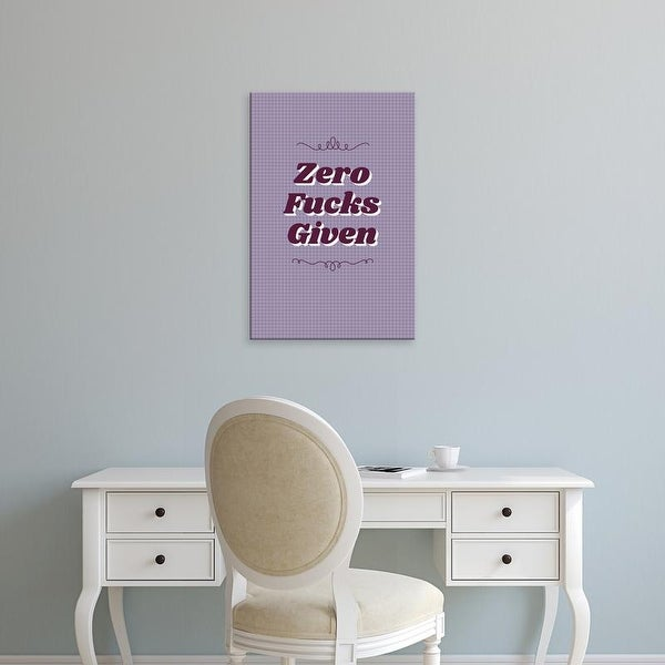 Easy Art Prints 'Zero III' Premium Canvas Art