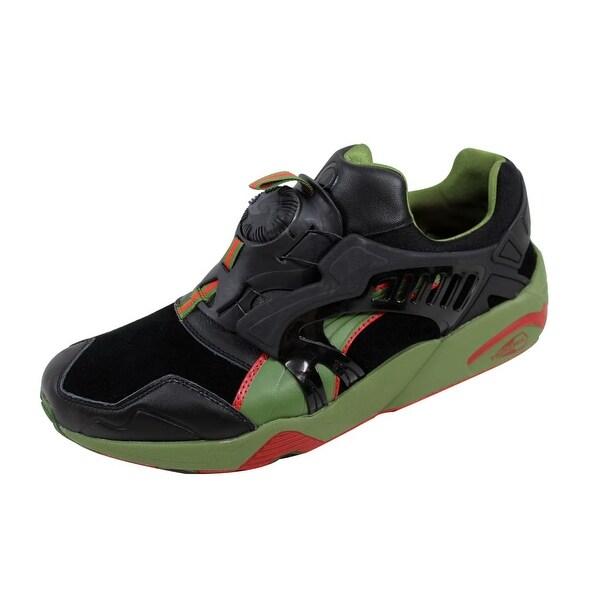 Puma Men's Disc Trinomic X Kasina Black/Garden Green Lux 358718 01 Size 13