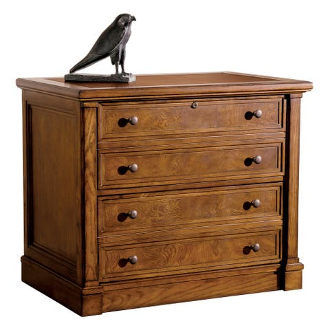 Hekman Furniture Wood Executive Desk File Cabinet
