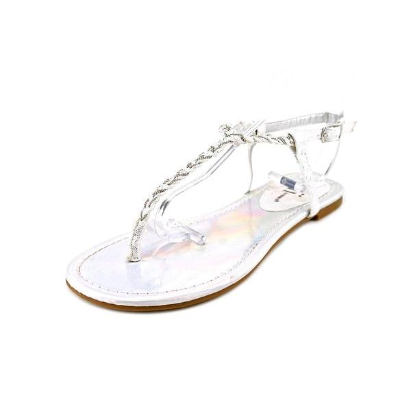 Famous Name Brand Fresh Breeze Open Toe Canvas Thong Sandal