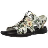 ECCO Womens Soft 5 -218563 Open Toe Casual Slingback Sandals