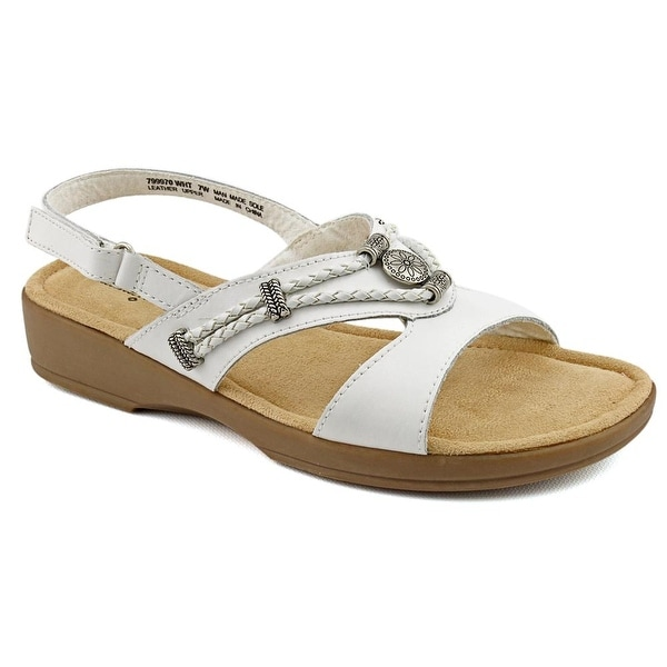 Minnetonka Silvie Womens White Sandals