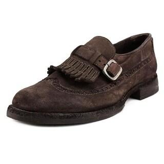 Pantofola d'Oro LA59CP Wingtip Toe Suede Loafer