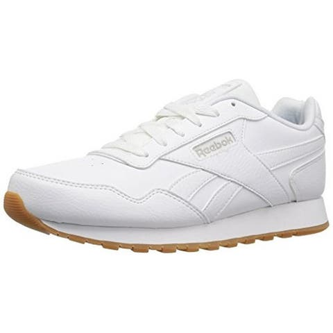 sports shoes 0af90 eaf5b Reebok Mens Classic Harman Run Sneaker, Adult, Us-White Gum