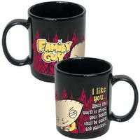 Family Guy Stewie I Like You Mug