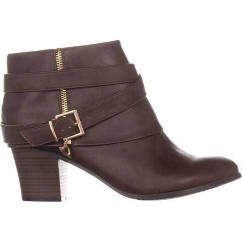 Thalia Sodi Womens Tully Closed Toe Ankle Fashion Boots