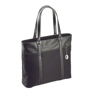 """Mobile Edge Women's Ultra Tote with Leather Trim- 15.4""""PC/17""""Mac Black - us women's one size (size none)"""