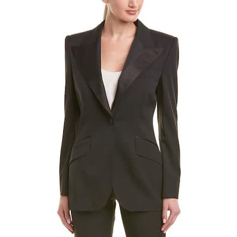 Dolce & Gabbana Wool & Silk-Blend Blazer
