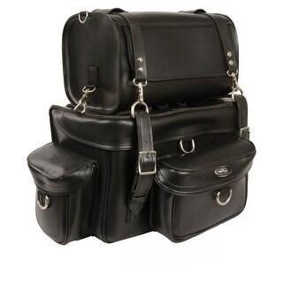 Heavy Duty Motorcycle Sissy Bar Bag 18X12X9