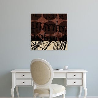 Easy Art Prints GraphINC's 'Fibers I' Premium Canvas Art
