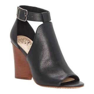 Vince Camuto Women's Adaren Cut Out Sandal Black Vignoni