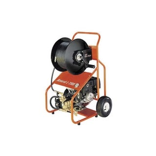 "General Pipe Cleaners JM-2900-B Jet-Set 389cc 3,000 PSI Drain Cleaner with Vibra-Plus System and 200 ft. x 3/8"" Hose and Nozzle"