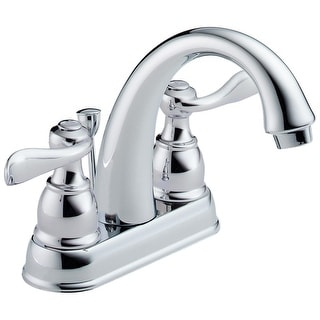 Delta 25996LF Windemere Two Handle Centerset Lavatory Faucet, Chrome