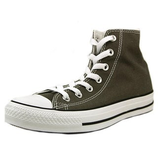 Converse Chuck Taylor All Star Seasonal Hi Women Round Toe Canvas Gray Sneakers