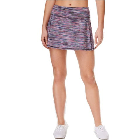 Ideology Women's Spaced-Dyed Skort Multicolored, XL