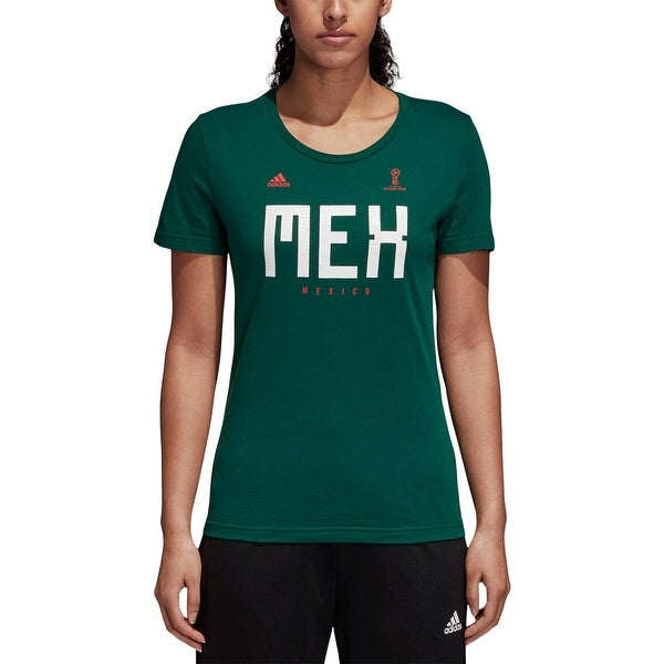 Shop Adidas Womens T-Shirt Soccer Printed - Free Shipping On Orders Over   45 - Overstock - 26441672 604c0140ed