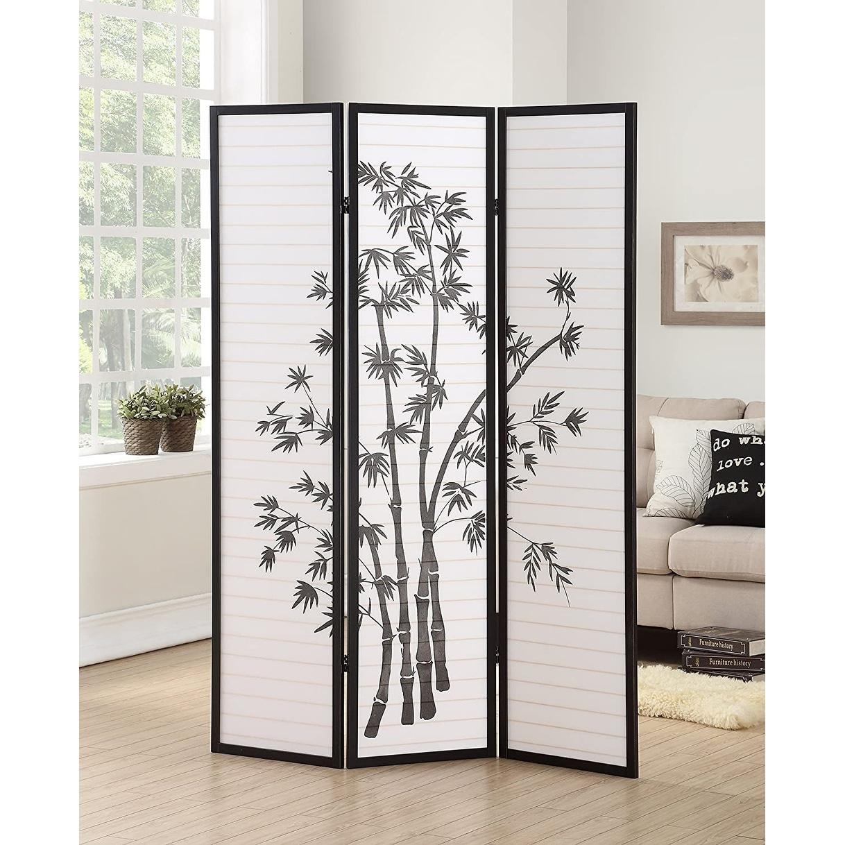 IN NATURE COLOR ASDI Brand New 3-panel ASIAN STYLE SHOJI screen room divider