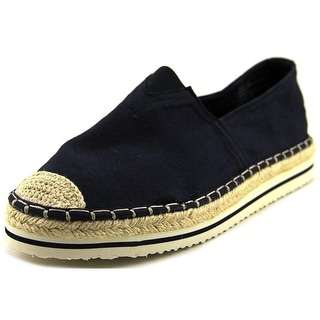 Madden Girl Maaui Women Round Toe Canvas Blue Espadrille