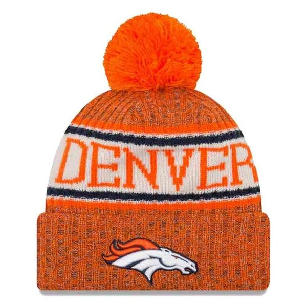 Shop New Era 2018 NFL Denver Broncos Sport Stocking Knit Hat Winter Beanie  11768192 - Free Shipping On Orders Over  45 - Overstock - 23042891 374492a33b1