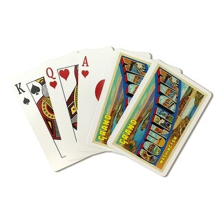 Greetings From Grand Coulee Dam, WA - LP Art (Poker Playing Cards Deck)