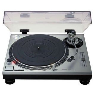 Classic Professional Dj Direct Drive Turntable Silver