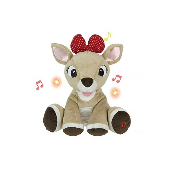 Rudolph the Red Nosed Reindeer Plush with Music and Lights