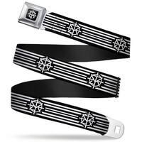 Seth Rollins Tri R Icon Full Color Black White Seth Rollins Tri R Icon Seatbelt Belt