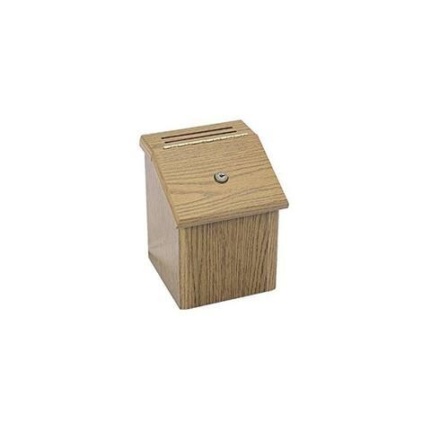 Pyramid Technologies Wood Suggestion Box