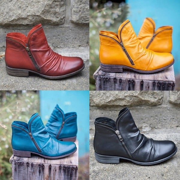 Leather Spring/Fall Boots. Opens flyout.