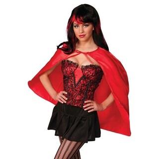 Forum Novelties Fantasy Cape (Red) - Red