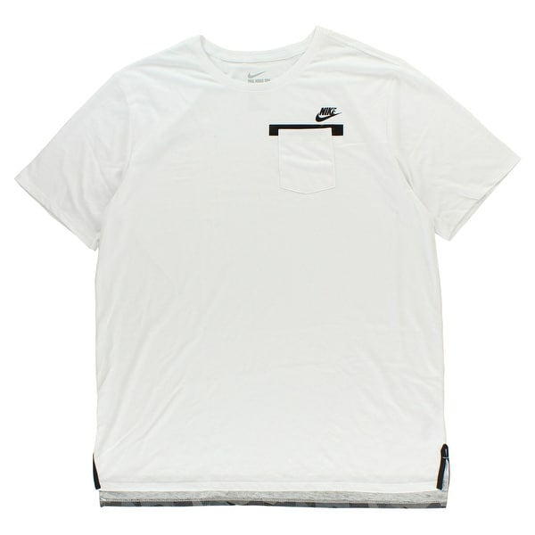 46824064990c Shop Nike Mens Badlands T Shirt White - WHITE BLACK - xL - Free Shipping On Orders  Over  45 - Overstock - 22613142