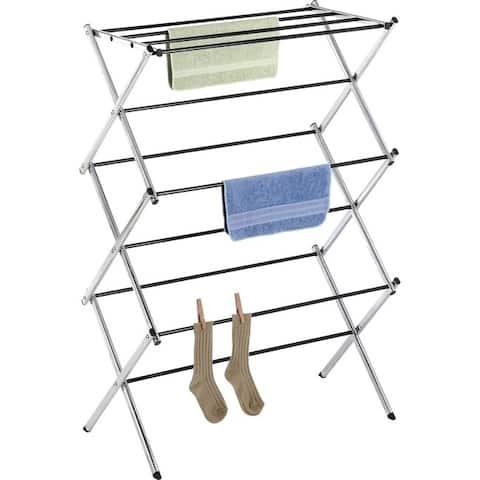 Whitmor 6060-741 chrome drying rack - Silver Metallic