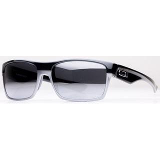 OAKLEY Sport Twoface Men's OO9189-01 Polished Clear Black Iridium Sunglasses - 60mm-16mm-137mm