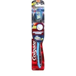 Colgate 360 Total Advanced Floss-Tip Toothbrush, Full Head Soft 1 ea