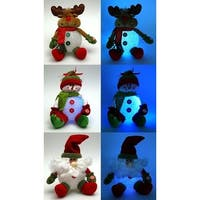 Plush EVA SnowmanMoose/Santa Assortment