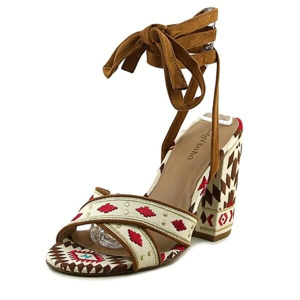 Zigi Soho Vierra Women Open Toe Canvas Multi Color Sandals