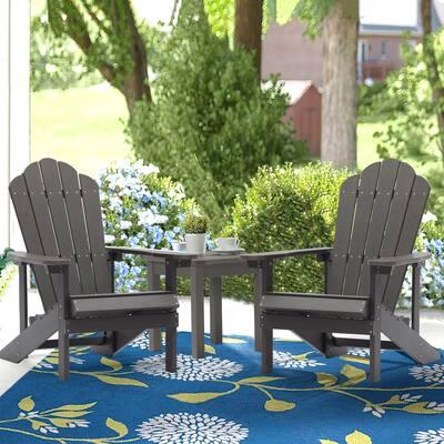 Bonosuki Set of 2 Adirondack Chairs Weather Resistant