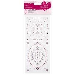Frames & Flourishes-Papermania Glitter Dot Stickers