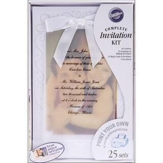 Wilton DIY The Two of Us Wedding Invitation Kit