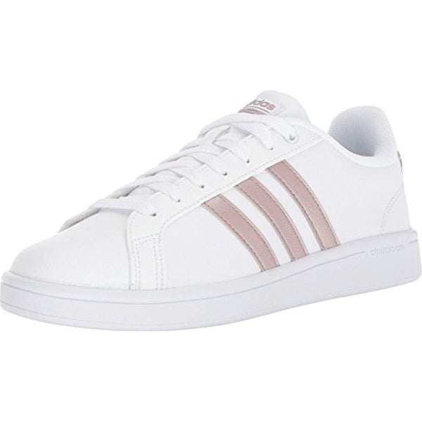 buy online 71f65 e64d4 Shop Adidas Performance Women s Cf Advantage W, White Vapour Grey White -  Free Shipping Today - Overstock - 27122160