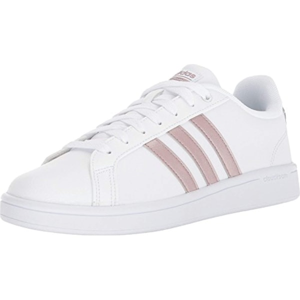 buy online 6bd0a 5d7a5 Shop Adidas Performance Women s Cf Advantage W, White Vapour Grey White -  Free Shipping Today - Overstock - 27122160