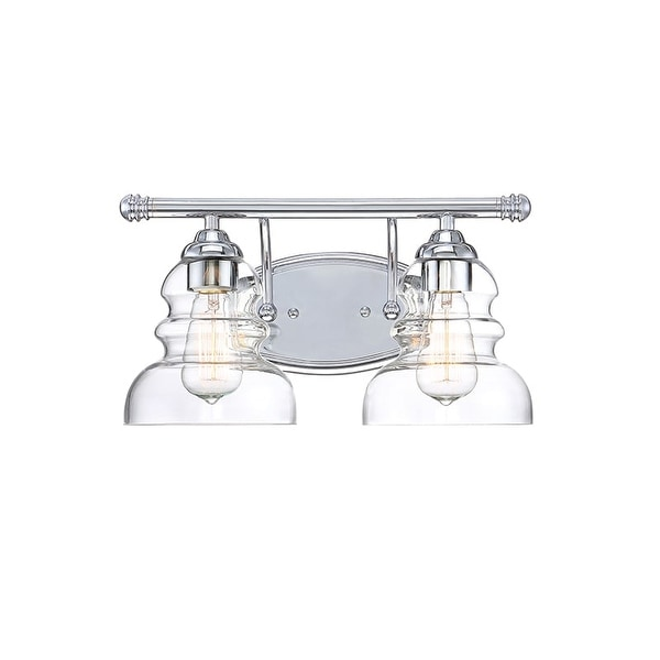 Shop millennium lighting 7332 brighton 2 light 15 wide bathroom millennium lighting 7332 brighton 2 light 15 wide bathroom vanity light with glass shades aloadofball Image collections