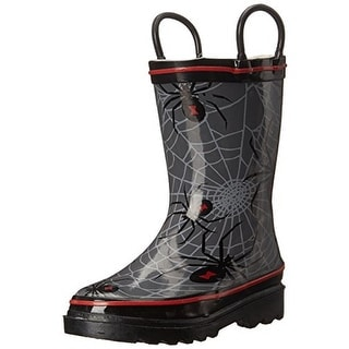 Western Chief Spider Web Crawl Infant Boys Printed Rain Boots - 5