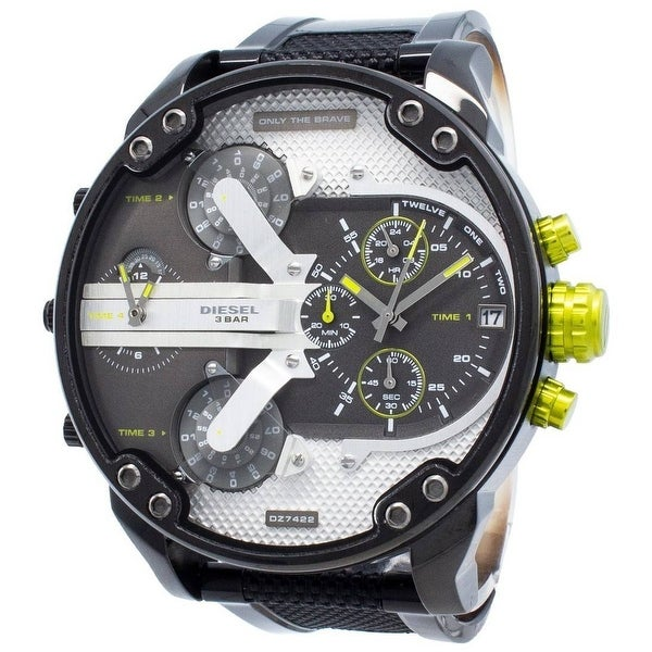Diesel Man's DZ7422 Mr Daddy 2.0 Gray Stainless Steel Chronograph Watch - 1 Size. Opens flyout.