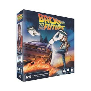 Back To The Future Adventure Through Time Board Game - multi
