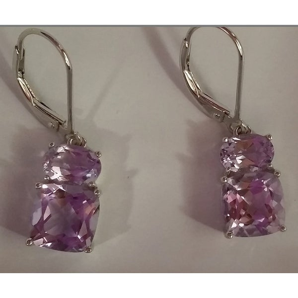 sterling france earrings amethyst blaine de jewelry sara designed by rose silver
